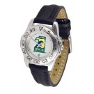 North Carolina (Wilmington) Seahawks Ladies Sport Watch with Leather Band