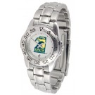 North Carolina (Wilmington) Seahawks Ladies Sport Watch with Stainless Steel Band