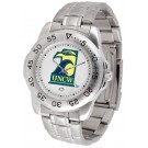 North Carolina (Wilmington) Seahawks Sport Steel Band Men's Watch