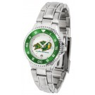 North Dakota State Bison Competitor Ladies Watch with Steel Band