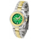 North Dakota State Bison Competitor AnoChrome Ladies Watch with Two-Tone Band