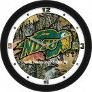 "North Dakota State Bison 12"" Camo Wall Clock"