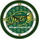 "North Dakota State Bison 12"" Dimension Wall Clock"