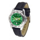 North Dakota State Bison Sport AnoChrome Ladies Watch with Leather Band