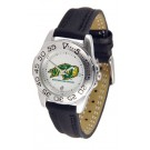 North Dakota State Bison Ladies Sport Watch with Leather Band