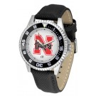 Nebraska Cornhuskers Competitor Men's Watch by Suntime