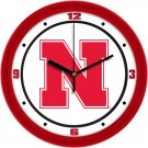 "Nebraska Cornhuskers Traditional 12"" Wall Clock"