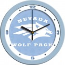 "Nevada Wolf Pack 12"" Blue Wall Clock"