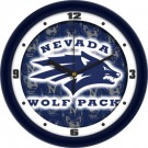 "Nevada Wolf Pack 12"" Dimension Wall Clock"