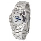Nevada Wolf Pack Gameday Sport Ladies' Watch with a Metal Band