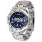 Nevada Wolf Pack Sport Steel Band Ano-Chrome Men's Watch