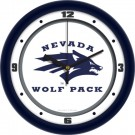 "Nevada Wolf Pack Traditional 12"" Wall Clock"