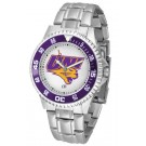 Northern Iowa Panthers Competitor Watch with a Metal Band