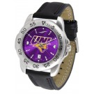 Northern Iowa Panthers Sport AnoChrome Men's Watch with Leather Band