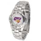 Northern Iowa Panthers Gameday Sport Ladies' Watch with a Metal Band