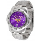 Northern Iowa Panthers Sport Steel Band Ano-Chrome Men's Watch