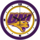 "Northern Iowa Panthers Traditional 12"" Wall Clock"