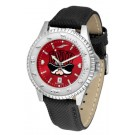 Las Vegas (UNLV) Runnin' Rebels Competitor AnoChrome Men's Watch with Nylon/Leather Band