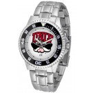 Las Vegas (UNLV) Runnin' Rebels Competitor Watch with a Metal Band