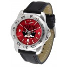 Las Vegas (UNLV) Runnin' Rebels Sport AnoChrome Men's Watch with Leather Band