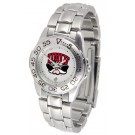 UNLV Rebels Gameday Sport Ladies' Watch with a Metal Band