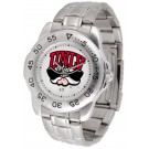 Las Vegas (UNLV) Runnin' Rebels Sport Steel Band Men's Watch