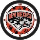 "New Mexico Lobos 12"" Dimension Wall Clock"