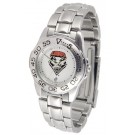 New Mexico Lobos Gameday Sport Ladies' Watch with a Metal Band