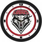 "New Mexico Lobos Traditional 12"" Wall Clock"