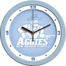 "New Mexico State Aggies 12"" Blue Wall Clock"