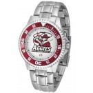 New Mexico State Aggies Competitor Watch with a Metal Band