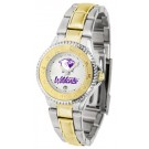 Northwestern Wildcats Competitor Ladies Watch with Two-Tone Band by