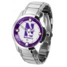Northwestern Wildcats Titan Steel Watch by