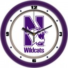 "Northwestern Wildcats Traditional 12"" Wall Clock"