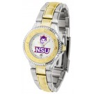 Northwestern State Demons Competitor Ladies Watch with Two-Tone Band