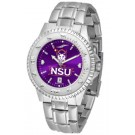 Northwestern State Demons Competitor AnoChrome Men's Watch with Steel Band
