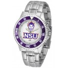 Northwestern State Demons Competitor Men's Watch with Steel Band