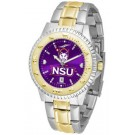 Northwestern State Demons Competitor AnoChrome Two Tone Watch