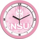 "Northwestern State Demons 12"" Pink Wall Clock"