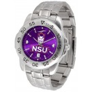 Northwestern State Demons Sport Steel Band Ano-Chrome Men's Watch