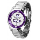 Northwestern State Demons Titan Steel Watch