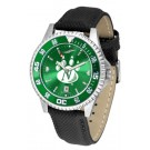 Northwest Missouri State Bearcats Competitor AnoChrome Men's Watch with Nylon/Leather Band and Colored Bezel