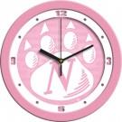 """Northwest Missouri State Bearcats 12"""" Pink Wall Clock"""
