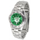 Northwest Missouri State Bearcats Sport AnoChrome Ladies Watch with Steel Band
