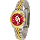 Oklahoma Sooners Ladies Executive AnoChrome Watch by