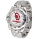 Oklahoma Sooners Sport Steel Band Men's Watch