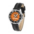 Oregon State Beavers Competitor Ladies AnoChrome Watch with Leather Band and Colored Bezel
