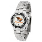 Oregon State Beavers Competitor Ladies Watch with Steel Band
