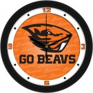 "Oregon State Beavers 12"" Dimension Wall Clock"