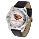Oregon State Beavers Men's Sport Watch with Leather Band